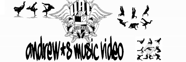 andrew's music video.