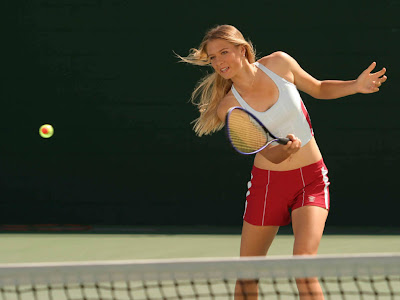 tennis star wallpaper. Maria Sharapova Beautiful Tennis Star Wallpaper
