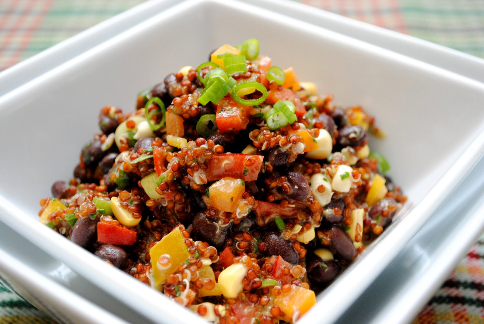 The Church Cook: Red Quinoa and Black Bean Salad