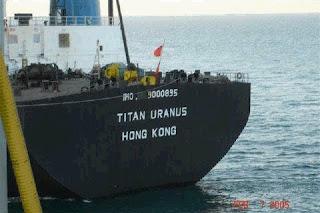Titan Uranus vessel
