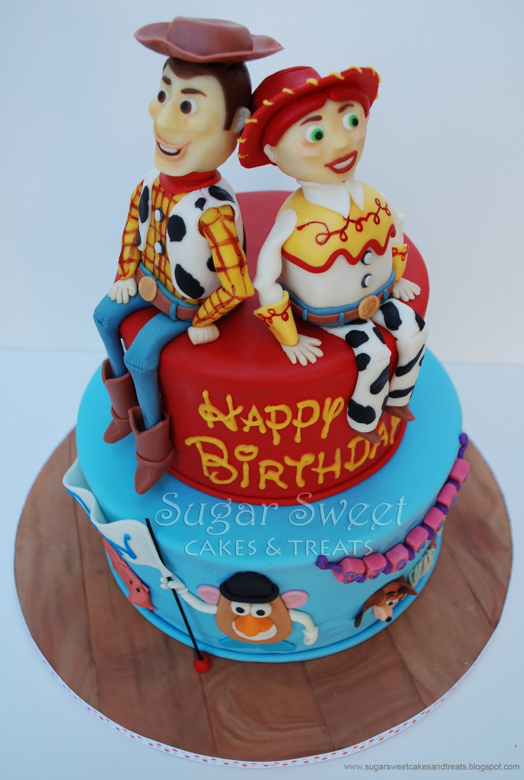 Toy Story Cake and Cupcakes | Sugar Sweet Cakes and Treats