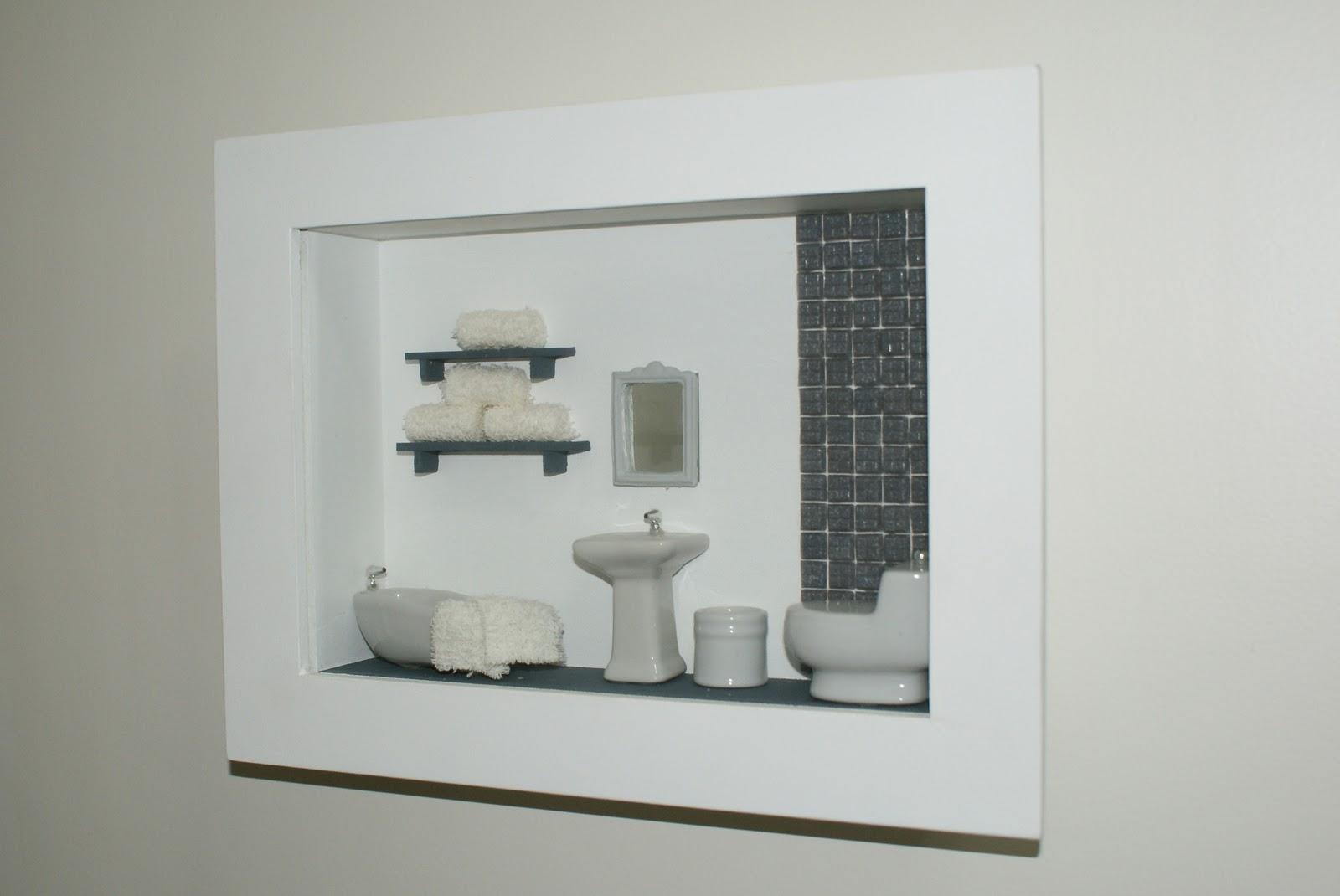 Sonho de Caixa Presentes de Madeira: Quadro para porta de banheiro  #59513D 1600 1070