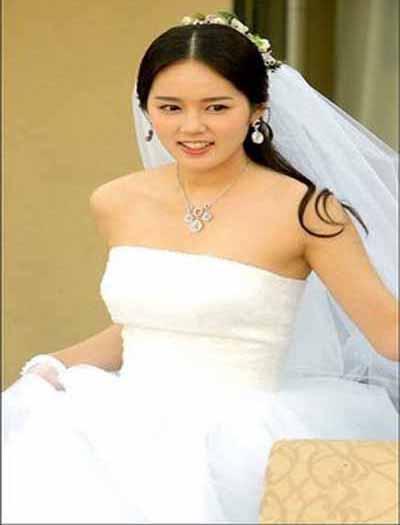 wedding wedding dress actress korean han ga in in