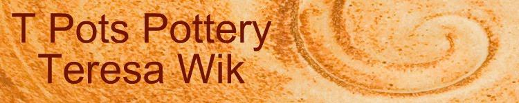 T Pots Pottery Blog: Teresa Wik