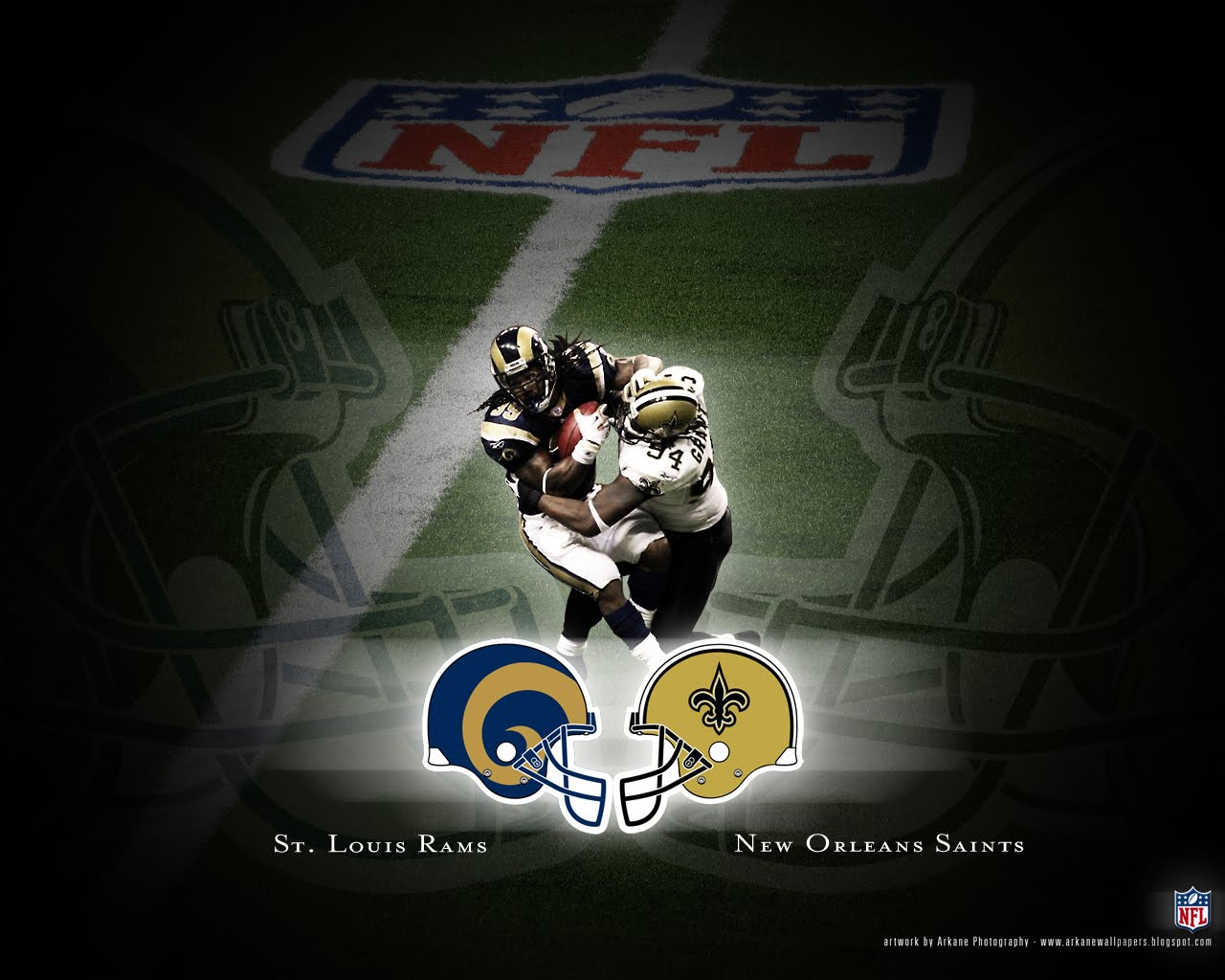 Etichete: Battle 10, New Orleans Saints, NFL, St Louis Rams