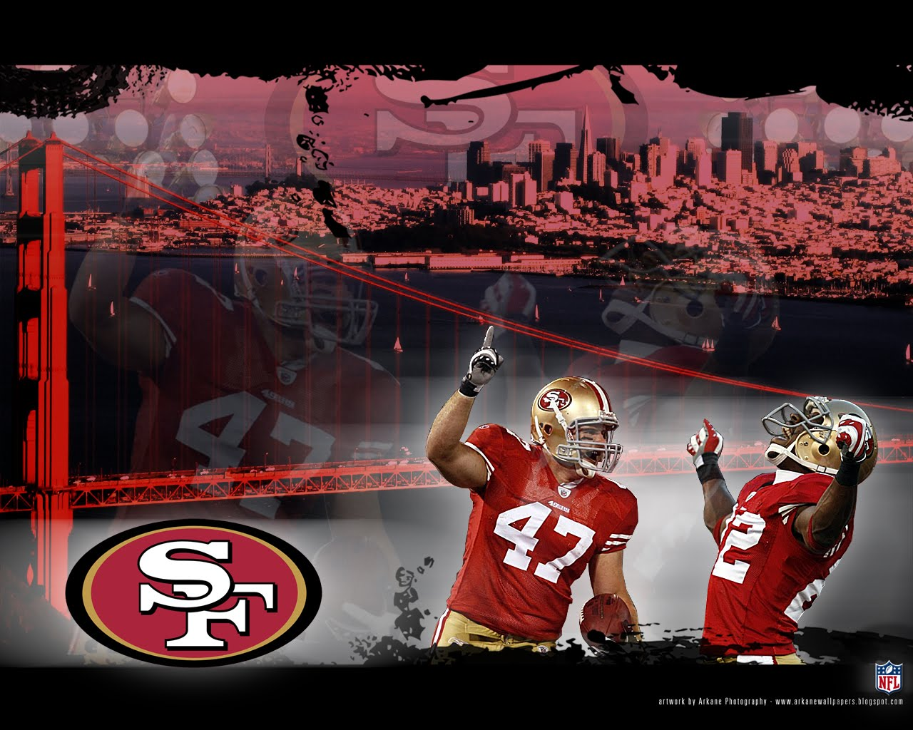 arkane nfl wallpapers san francisco 49ers