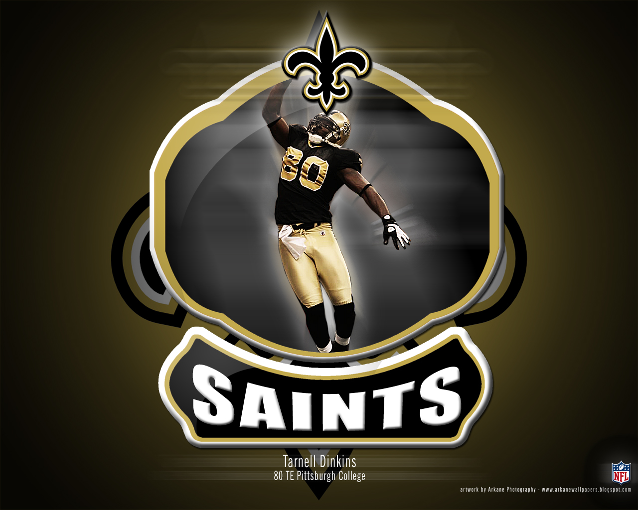 Arkane Nfl Wallpapers Tarnell Dinkins New Orleans Saints