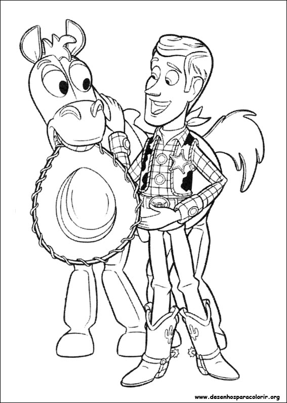 Toy Story para colorir Desenhos para Colorir - imagens para colorir do toy story