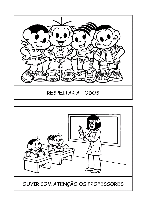 COMBINADOS TURMA DA MÕNICA