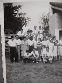 1948 - Angola, com a família