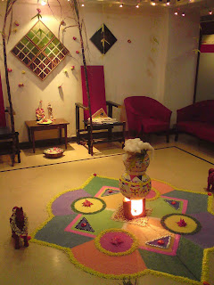 office decor for pongal. Were Placed At The Corners To Add More Beauty Decorations. Day Ended By Distributing Some Sweets And Wishing Colleagues \ Office Decor For Pongal I