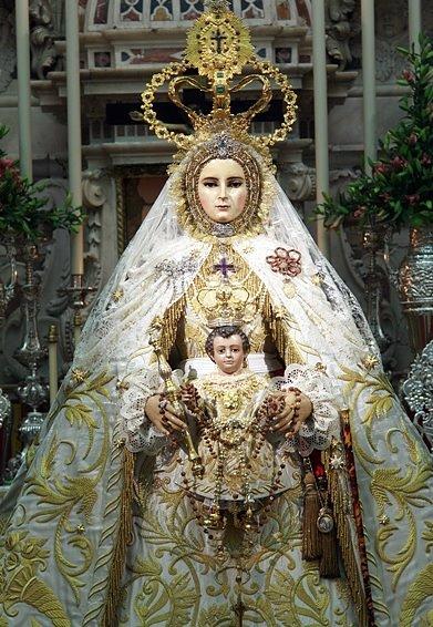 Nuestra seora del rosario de cadiz espaa 7 de octubre foros desde la fundacin de la cofrada del rosario en 1590 1591 han pasado por el culto de los gaditanos cuatro imgenes titulares de la virgen del rosario thecheapjerseys Gallery