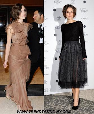 Keira Knightley - Valentino. Keira Knightley - Chanel