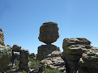 Balance Rock in Chiricahua