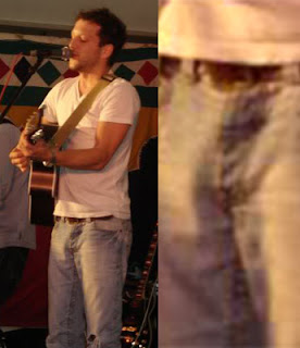 Matt Cardle jeans bulge