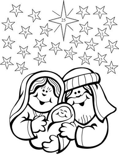desenhos sobre o natal