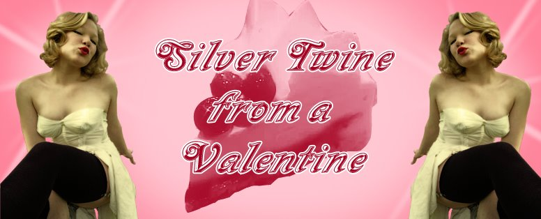 Silver Twine from a Valentine