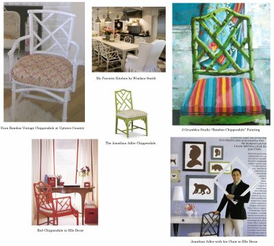 Chippendale Chairs/Jonathan Adler Homage