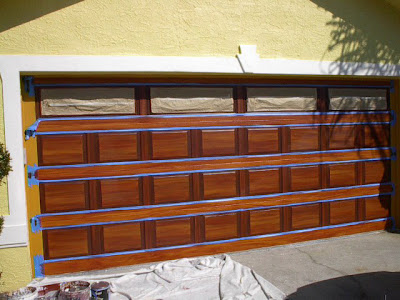 Beau Step 7   The Last Spaces To Paint Are The Vertical Spaces At Either Side Of  The Door. The Door Is Painted In This Manner Because If It Where Real Wood  That ...