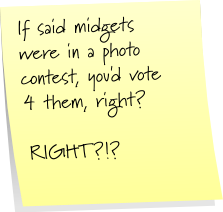 Midget photo contest