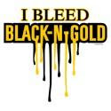 bleed black and gold