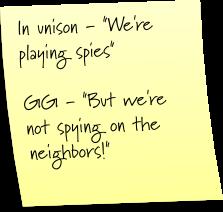 Modern day spy