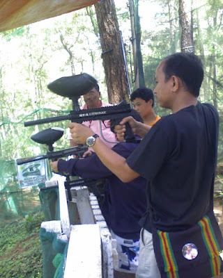 Paint Ball Camp John hay