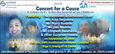 Concert for A Cause: A tribute to Fr. Al for the Benefit of his Children