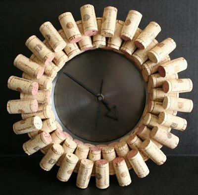 Wine Cork Clock   Make Your Own Or Purchase This One On Etsy  And Tell