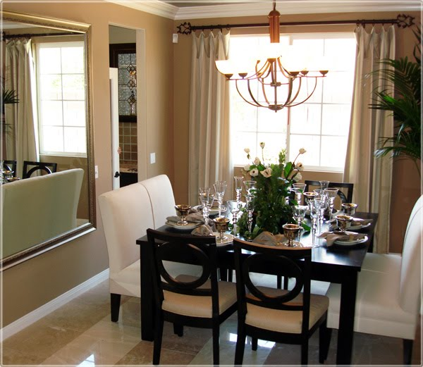 belle maison mix it up with dining room seating