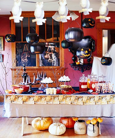 Belle maison halloween chic - Decoration halloween maison ...