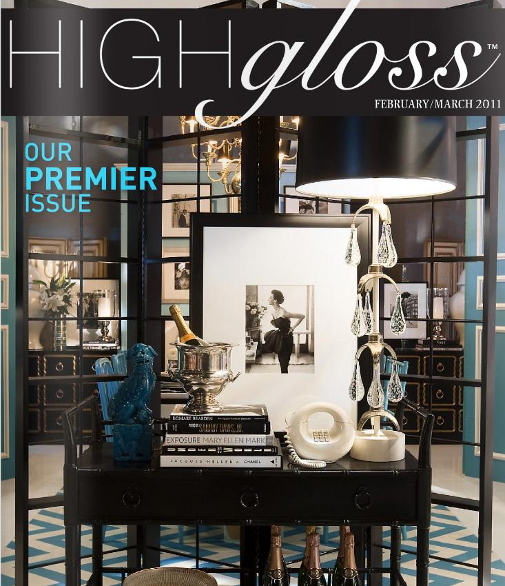 Belle Maison Premiere Issue High Gloss Magazine