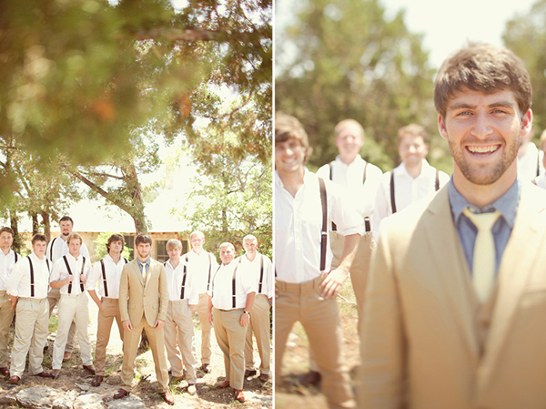 Texas romantic wedding