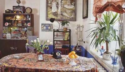Interior in style of Elektika
