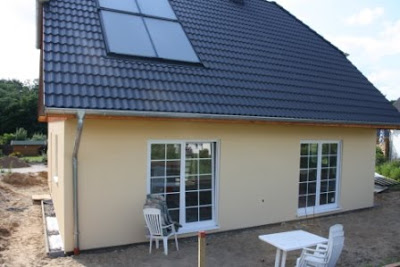 bautagebuch team massivhaus einfamilienhaus 160 au enputz schon fertig. Black Bedroom Furniture Sets. Home Design Ideas