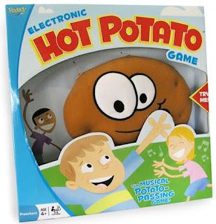 Rob McClurkan, Packaging, Hot Potato Game