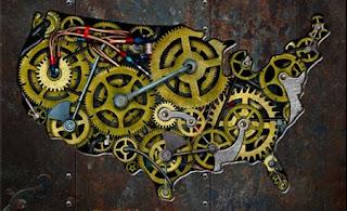 Mark Thoburn, Presentation Design, Steampunk States