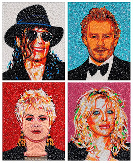 Jason Mecier: Celebrities in Pills with Micheal Jackson and Heath Leger among others