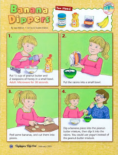 Liz Goulet Dubois, How to make Banana Dippers