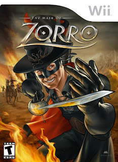 Martin Ansin, Zorro, Video Game Cover