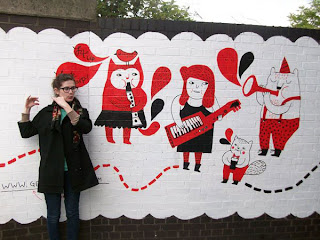 Gemma Correll, Mural Paintings
