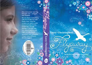 Book Cover Illustration, Jess Volinski, Lettering, Flyaway