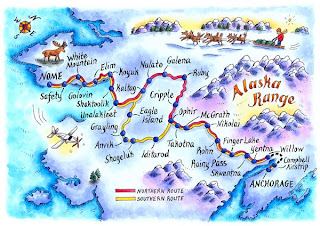 Jennifer Thermes, Magazine Illustration, Maps