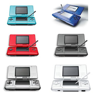 NDS Shell Replacement Kit(blue, ice blue, red, black, silver, white)