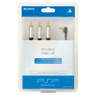 PSP 2000 Composite AV Cable