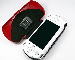 Fashional FARRARI shape case for PSP slim