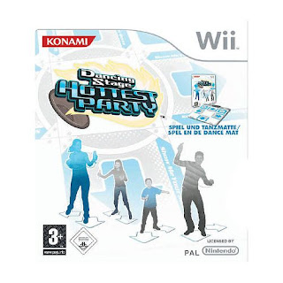 Wii Family trainer mat and Wii dance mat