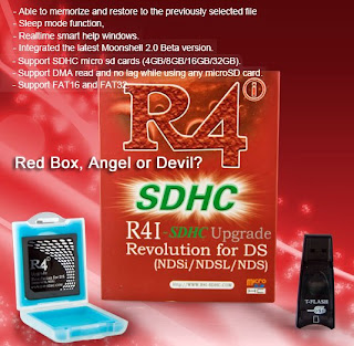 R4i SDHC Landed in Red Box