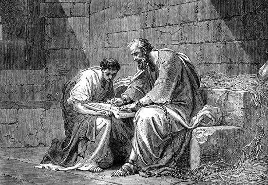 discipleship relationship between paul and timothy