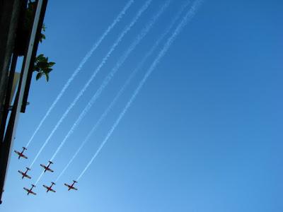 Lėktuvų pasirodymas